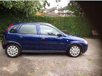 2003 Vauxhall Corsa Active 1.0cc 12v Low Mileage, Long MOT, A/C, 5 door, Ideal 1st Car