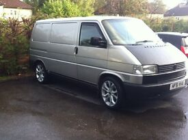 VWT4 great van , good condition for age, used every day, new MOT
