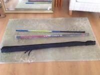 3 fishing rods - unused