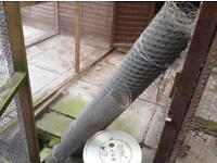 Roll Of Galvanised Netting Wire