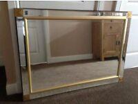"Mirror - Livingroom or Bedroom - size 41.5 "" x 29"" - no marks"