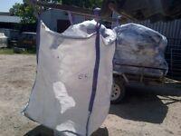 tonne bags, builders rubble, garden waste jumbo storage sack