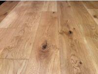 Beautiful Engineered Oak Wood flooring (left over) (8.7885 m2)