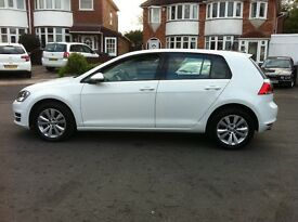 VOLKSWAGEN GOLF 2014 64 REG BLUEMOTION 1.6 TDI MANUAL BRILLIANT CONDITION VW 40K MILEAGE BARGAIN