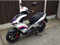 Beeline pista sports moped 50cc