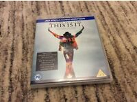 Michael Jackson -This is it ;Blue ray 3D DVD