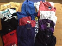 Selection of men's tops. 13 items in all. Medium size. Good condition.