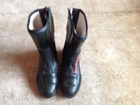 BMW ITALIAN LEATHER MOTORCYCLE BOOTS