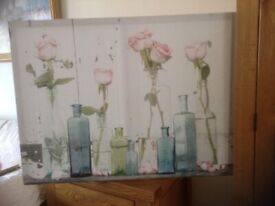Canvas Painting of French Boudoir 80cm X 60cm