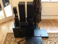 Denon Av Amp 7/2 surround speakers cd player