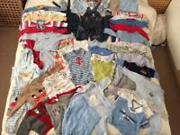 3-6mth bundle of baby boy clothes in excellent condition and great quality
