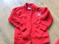 Barnes Infant academy large bundle of jumpers and cardigans
