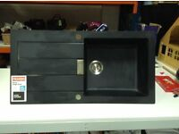 Black Composte Sink Unit (ex display)