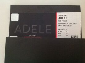 ADELE TICKETS 28.06.17