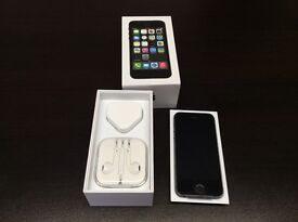 IPhone 5s 64gb unlocked immaculate condition with warranty and accessories