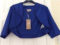 Royal blue shrug