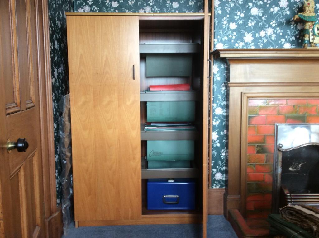 Two Door Filing Cabinet