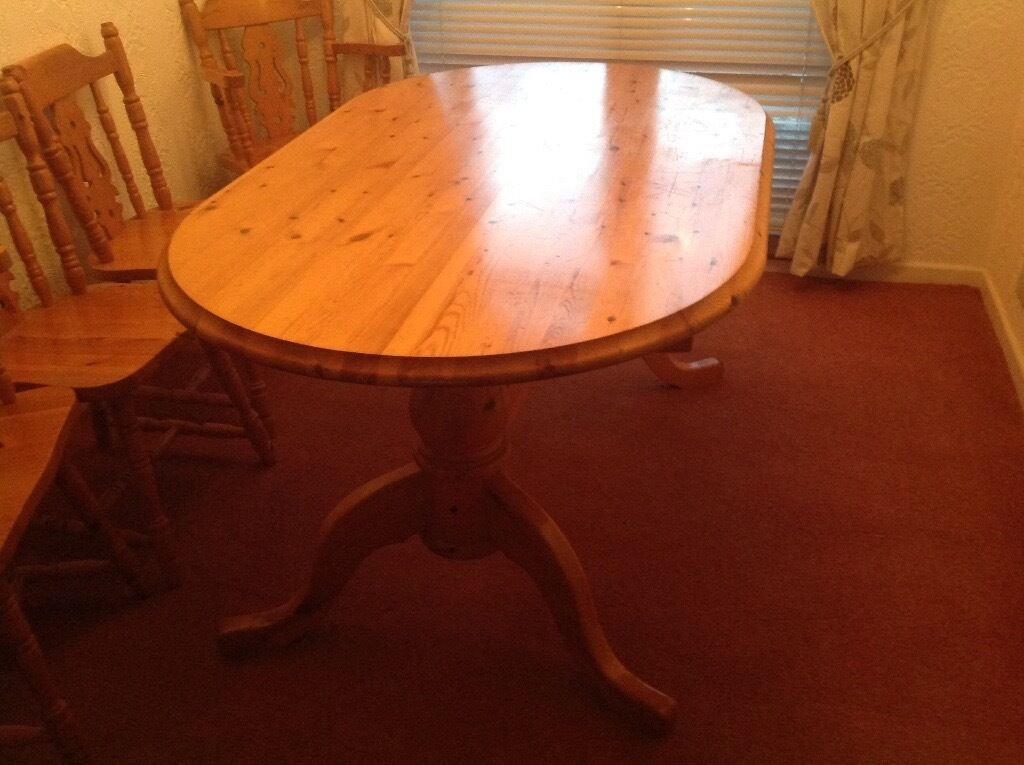 Cottage style table and six chairs in Freckleton  : 86 from www.gumtree.com size 1024 x 765 jpeg 88kB