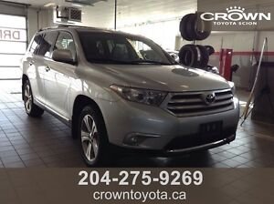 2013 CERTIFIED TOYOTA HIGHLANDER LIMITED AWD V6 7 PASS! LOCAL T