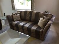 Sofa (4 seater) and 'Snuggler' Chair