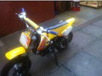 X sport 110 pit bike