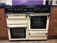 LEISURE COOKMASTER CM101 NR GAS RANGE COOKER AND EXTRACTOR HOOD