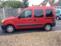 Renault Kangaroo 1.2 Authentique 95k Miles removable seats mean this can be used as car or van