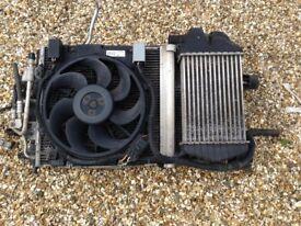 2009 Vauxhall Astra 1.9 cdti air con rad-fan and intercooler