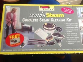 Steam cleaning kit