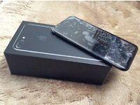 iphone 7plus 256 GB unlock jet black