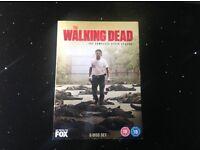 Complete season six of The Walking Dead on DVD (not a copy)