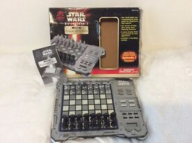 Star Wars Episode 1 electronic Galactic Chess