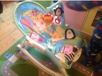 Fisher-Price Discover 'N Grow Baby & Toddler Rocker Chair Good Condition