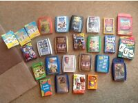 Large collection of card games including top trumps