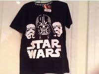 Star Wars T-Shirts, Various Ages & Sizes, Job Lot of 18, Ex Disney Store