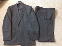 Burtons Charcoal Grey Suit - Worn once
