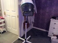 Professional free standing hair dryer.Hardly used.Collection only.Unable to deliver.