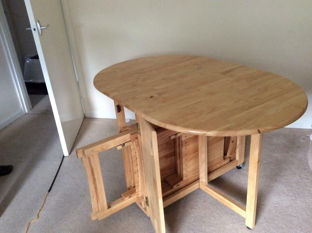 John Lewis a wood table and ( chair 4 free )