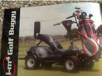 I-M4 Golf Buggy - Very good condition hardly used! grab a bargain
