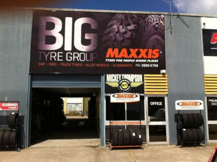 Car Tyres from $65ea, 4x4 tyres from $110ea mud tyre from $140