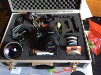 Digital camera + accessories