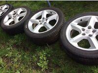 """17"""" Vauxhall Zafira SRI alloys"""
