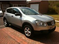 Nissan Qashqai, 1.6 litre, petrol, excellent condition inside & out, lady owner, no expense spared.