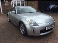 Nissan 350z, 2005, Silver with matching Rays