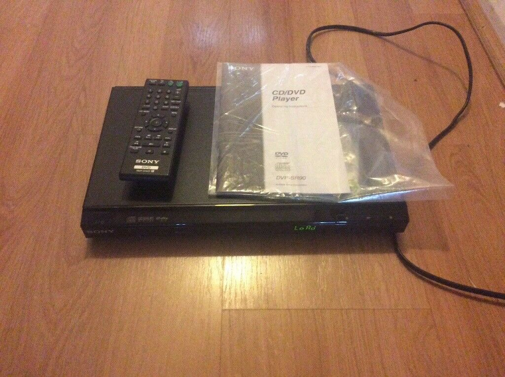 Sony DVD player & remote control