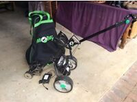 Hill Billy golf trolley incl battery and charger in working order
