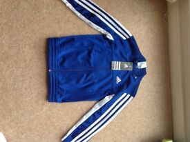 Adidas zip up top 5-6years brand new with tag