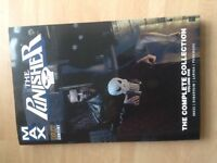 The Punisher graphic novels 1-4 unread
