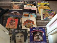 26 vinyl albums,various artists,Beatles,bob Marley,Rod Stewart,Glen Campbell,chi lites,Diana Ross,