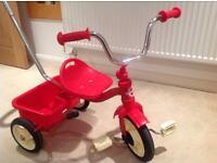 Italtrike classic red Italian toddler trike